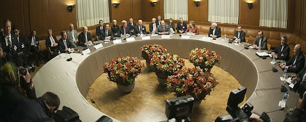 A photo from the early phases of the recent Iranian nuclear talks, which ran from 2013 to 2015.
