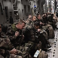 French troops being airlifted to Mali. (U.S. Air Force photo by Staff Sgt. Nathanael Callon)