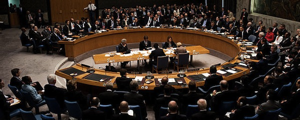 File photo of the United Nations Security Council.