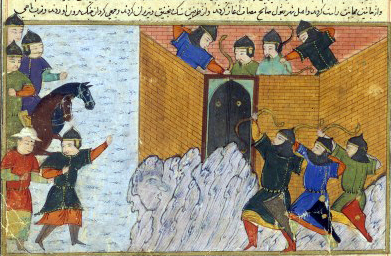One of the Mongol sieges of Mosul in the 13th century CE.