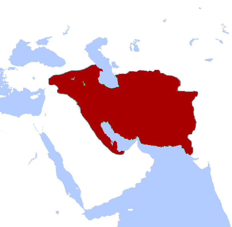 Parthian Empire at its greatest extent. Credit: Keeby101- Wikimedia