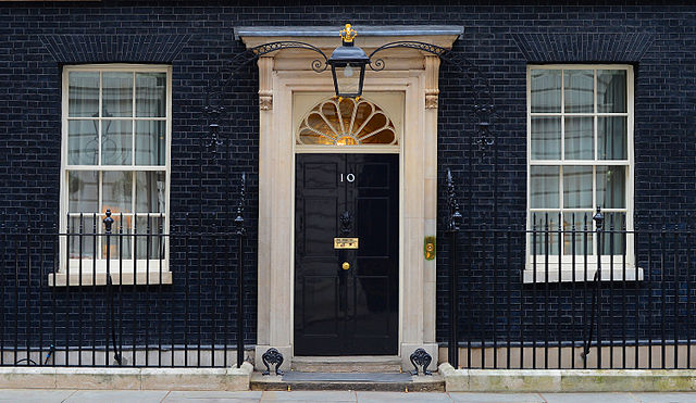 No. 10 Downing St (Credit: Sergeant Tom Robinson RLC - Ministry of Defense via Wikimedia)
