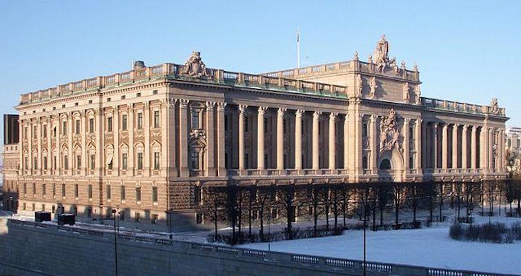 Parliament House in Sweden. Credit: Holger.Ellgaard via Wikimedia