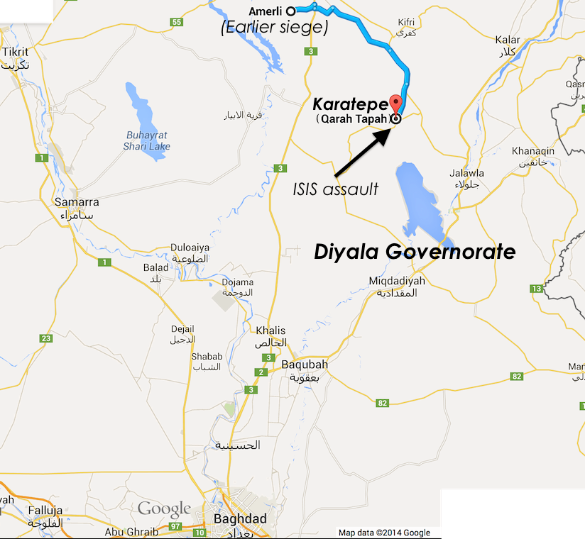 karatepe-qarah-tapah-diyala-amirli-iraq-map-october-23-2014