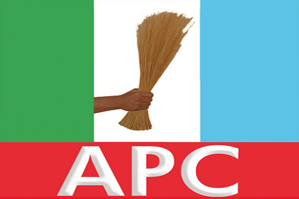 Logo of the All Progressives Congress opposition coalition. (Credit: Auwal Ingawa)