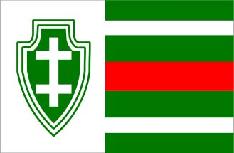 Flag of the Lithuanian Riflemen's Union (via Wikipedia)
