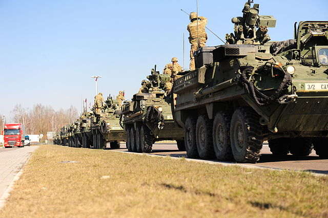 Operation Dragoon Ride, Eastern/Central Europe, Day 4. (Credit: US Army)