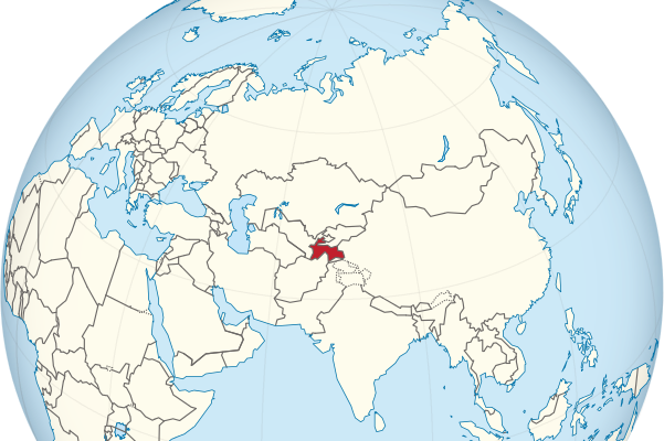 tajikistan-location-map