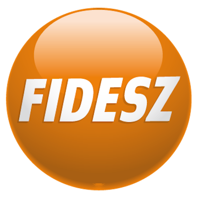 "Logo of the right-wing ""Fidesz – Hungarian Civic Alliance"" ruling party of Hungary."