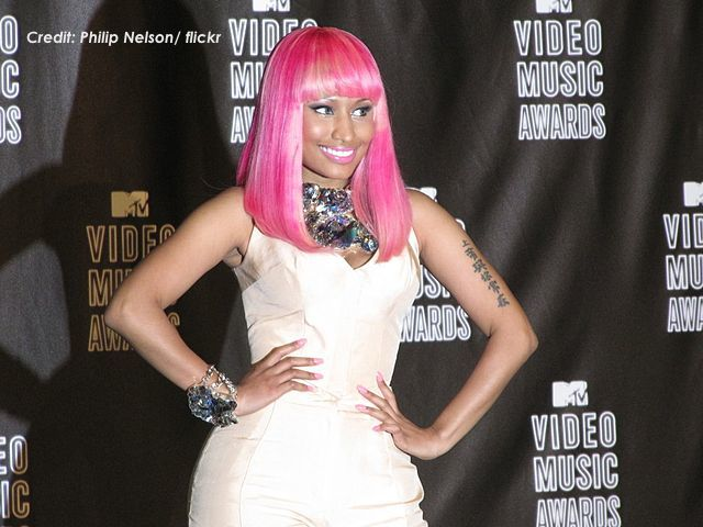 Nicki Minaj at the 2010 VMAs. (Photo Credit: Philip Nelson / flickr)