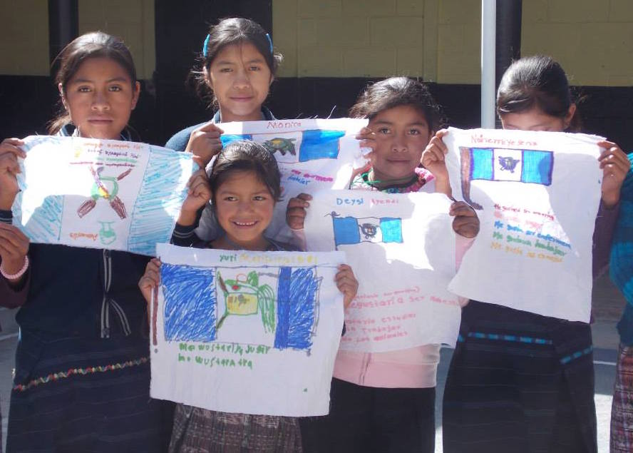 Photo taken by Kelley in Cajolá, Quetzaltenango, Guatemala at a girls' leadership camp hosted by Kelley and local health center staff.