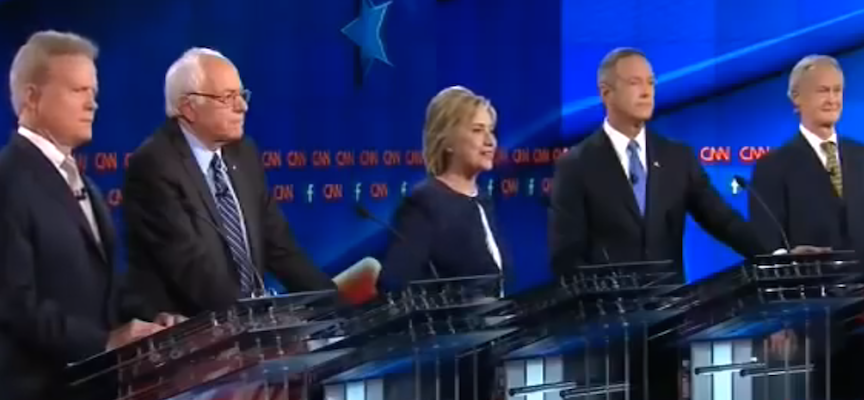 first-democratic-2016-presidential-debate